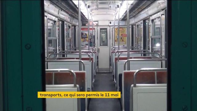 Transports : des règles strictes le 11 mai