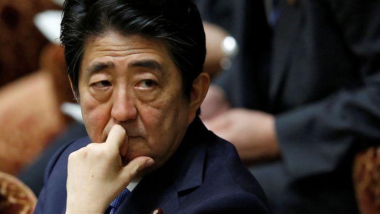 (Le Premier ministre japonais Shinzo Abe, au parlement, à Tokyo. Mai 2016 © Reuters)