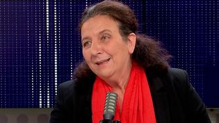 Frédérique Vidal, ministre de l'Enseignement supérieur, était l'invitée de franceinfo le 15 octobre 2020. (FRANCEINFO / RADIOFRANCE)