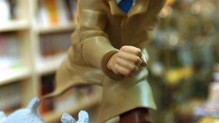 Une figurine de Tintin dans une librairie dePoitiers (Vienne), le 9 janvier 2014. (  MAXPPP)
