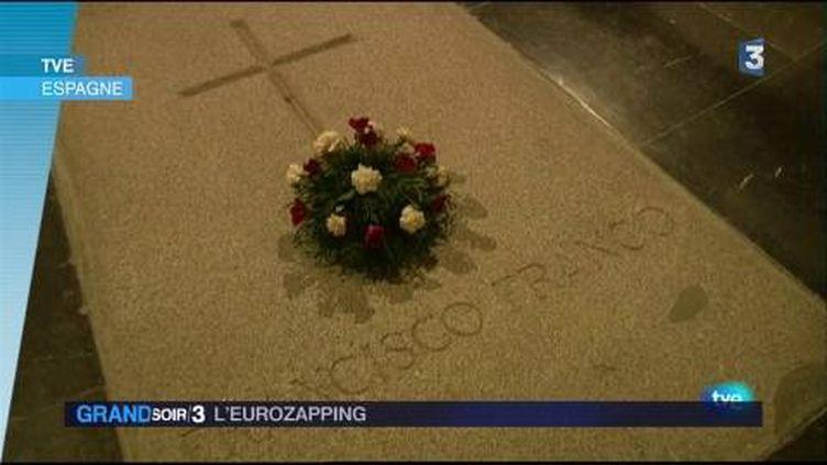 Les cendres de Franco vont être exhumées. (FRANCE 3)