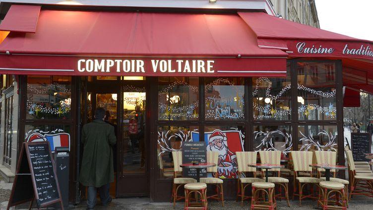 Le Comptoir Voltaire près de la place de la Nation, à Paris, le 16 décembre 2015. (BERTRAND GUAY / AFP)