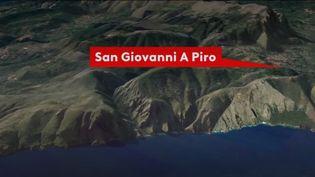 Vendredi 16 août, une semaine après sa disparition en Italie, Simon Gautier est toujours introuvable. Les recherches sont difficiles dans cette région escarpée. (FRANCE 3)