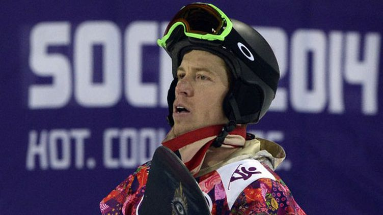 Le snowboarder américain Shaun White