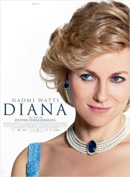 """L'affiche du film deOliver Hirschbiegel""""Diana""""  (Le Pacte)"""