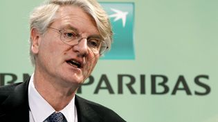Le PDG de BNP Paribas, le 17 février 2011 à Paris. ( CHARLES PLATIAU / REUTERS)