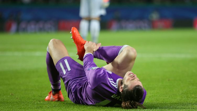Gareth Bale au sol (PEDRO FIUZA / NURPHOTO)