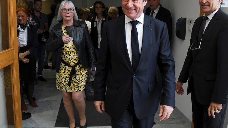 Le maire de Nice, Christian Estrosi, dans sa villedes Alpes-Maritimes, le 4 avril 2017. (YANN COATSALIOU / AFP)