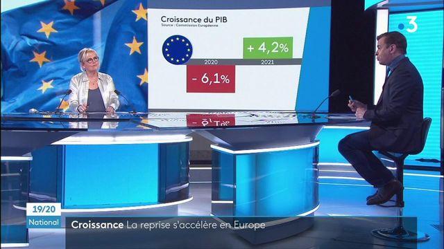 Croissance économique : la reprise s'accélère en Europe