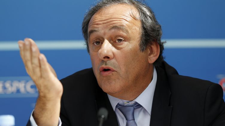 Michel Platini (VALERY HACHE / AFP)