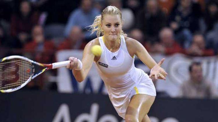 La Française Kristina Mladenovic n'a rien pu faire face à Julia Georges