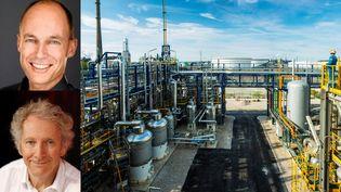 Bertrand Piccard (en haut) et Gérard Feldzer vous présentent des solutions pour recycler le CO2   (AIR LIQUIDE)