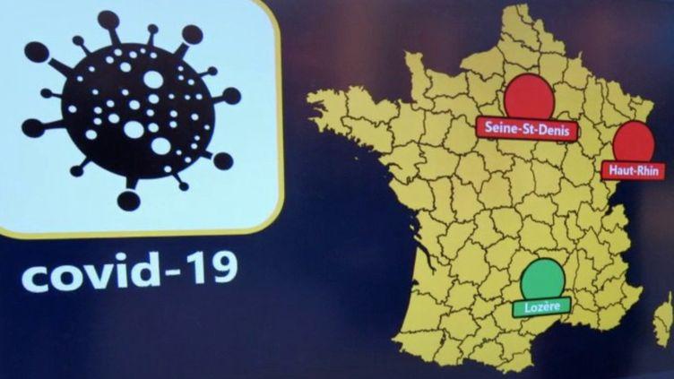 Déconfinement : les modalités de la carte départementale (FRANCE 2)