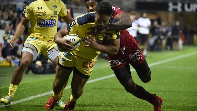 George Moala a inscrit deux essais pour Clermont (THIERRY ZOCCOLAN / AFP)