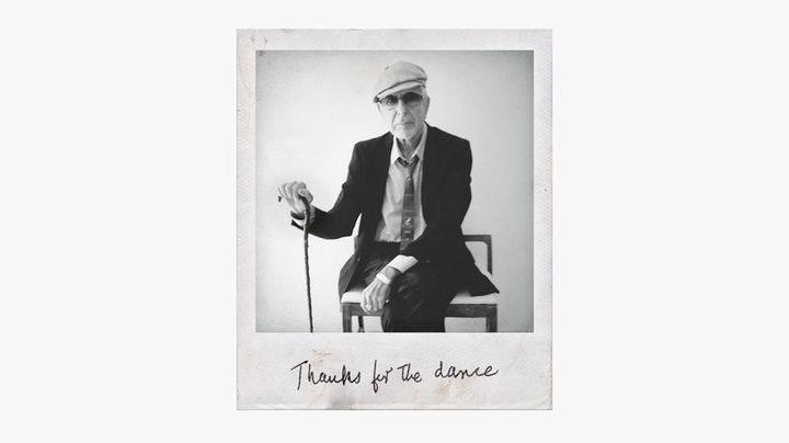"La pochette de l'album posthume de Leonard Cohen ""Thanks for the dance"". (SONY MUSIC)"
