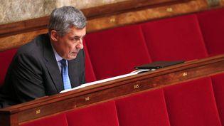 Le député UMP Henri Guaino assiste à une séance de questions au gouvernement à l'Assemblée nationale, le 3 juin 2014. (FRANCOIS GUILLOT / AFP)