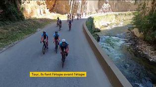 Tour de France amateur (capture d'ecran)