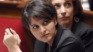 Najat Vallaud-Belkacem, la ministre de l'Education nationale, le 4 mars 2015, à Paris. (LOIC VENANCE / AFP)
