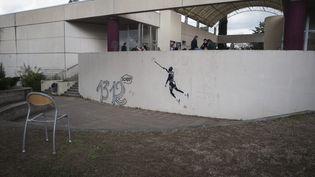 La faculté Paul-Valéry à Montpellier (Hérault)a été occupée par des étudiants, comme ici, le 22 mars 2018. (MAXPPP)