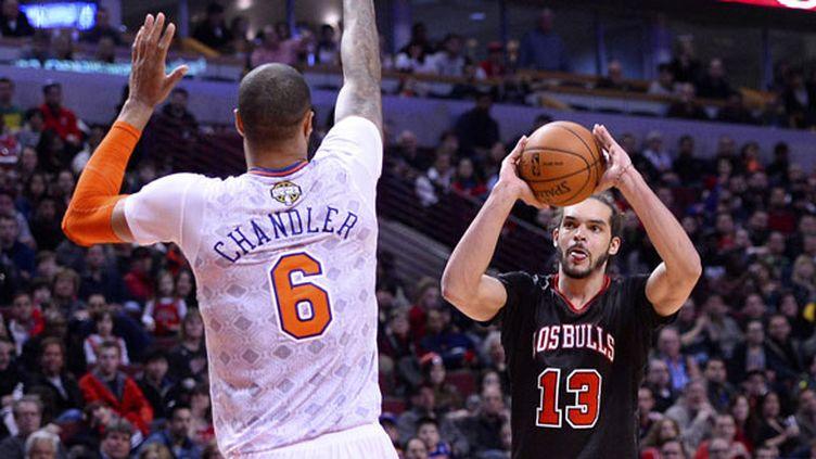 Joakim Noah en très grande forme face aux Knicks de Chandler et Anthony