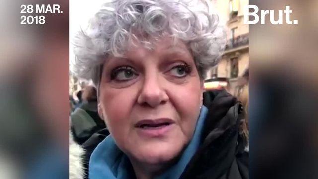 Lors de la marche blanche en hommage à Mireille Knoll, Michèle et Christian ont tenu à faire passer un message de rassemblement.