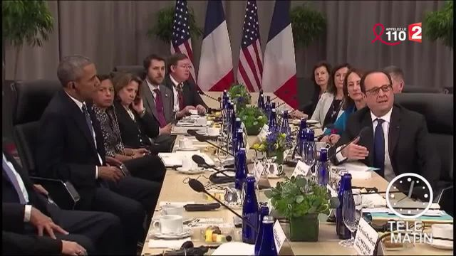 Lutte antiterroriste : François Hollande à la rencontre de Barack Obama
