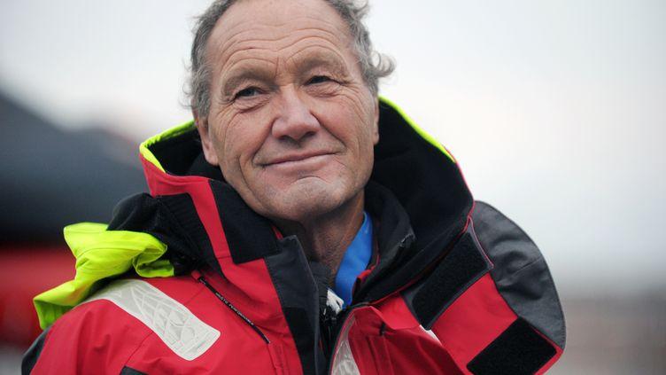 Francis Joyon et son équipage affolent les compteurs (FRED TANNEAU / AFP)