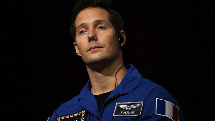 L'astronaute françaisThomas Pesquet (2018) (MARTIN BUREAU / AFP)