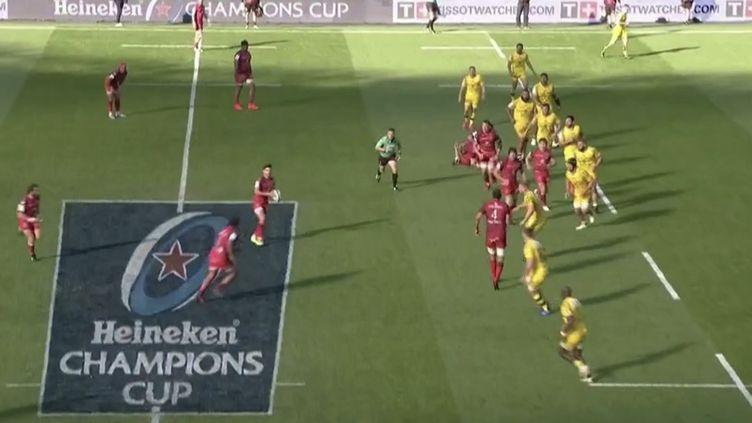 Rugby : Toulouse l'emporte sur La Rochelle à Twickenham (FRANCEINFO)