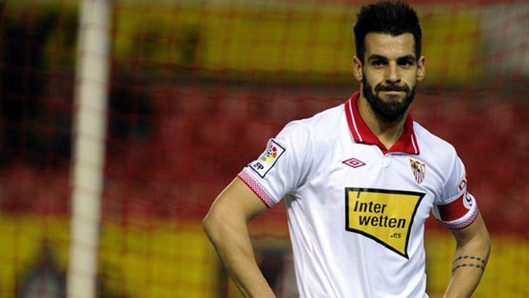 L'attaquant espagnol Alvaro Negredo