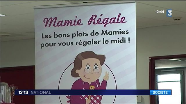 """""""Mamie Régale"""" : quand les retraités cuisinent pour les salariés"""