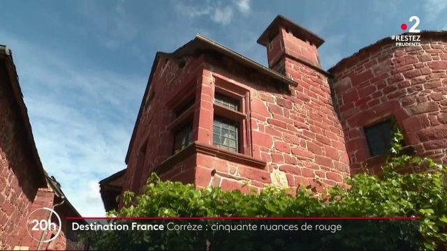 Corrèze : à la découverte du village aux cinquante nuances de rouge