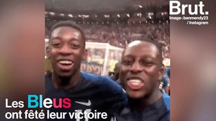 Après leur victoire contre la Croatie, en finale de Coupe du monde, les Bleus ont fêté dignement leur victoire. Retour sur ces moments de joie intense. (BRUT)