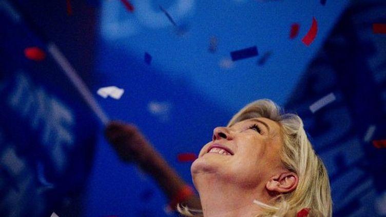 La présidente du Front National, Marine Le Pen (JOEL SAGET / AFP)