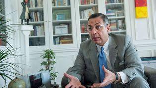 L'avocat Ardavan Amir-Aslani, le 3 juillet 2017, à Paris. (CHAMUSSY/SIPA)
