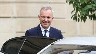 François de Rugy quitte l'Elysée, à Paris, le 17 octobre 2018. (JACQUES DEMARTHON / AFP)