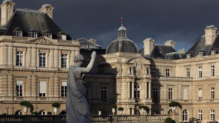 Le palais du Luxembourg, à Paris, le 19 janvier 2018. (MANUEL COHEN / AFP)