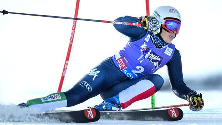 La skieuse italienne Federica Brignone