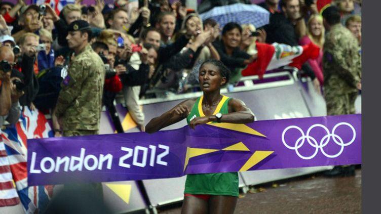 Tiki Gelana, nouvelle reine du marathon