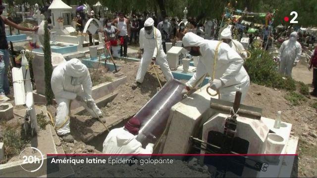 Coronavirus : en Amérique latine, l'épidémie est galopante