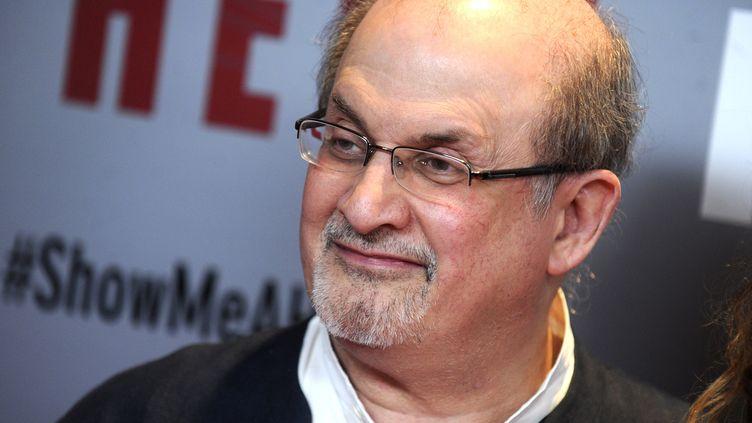 Présence de l'écrivain Salman Rushdie à la foire de Franckfort : l'Iran proteste  (Dennis Van Tine/Geisler-Fotopres / Geisler-Fotopress / Picture-Alliance/AFP)