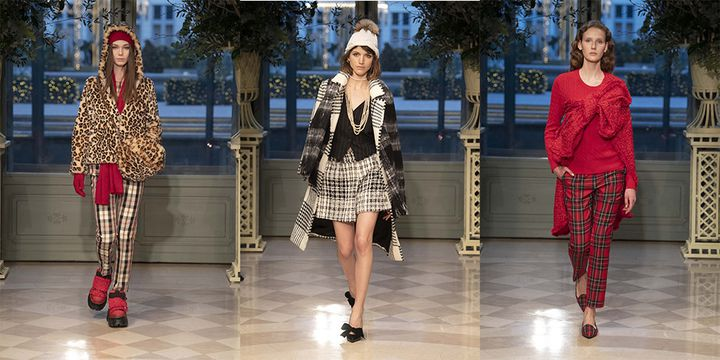 Weill automne-hiver 2019-20 au Ritz à Paris, en janvier 2019  (Courtesy of Weill)