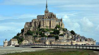 Le Mont-Saint-Michel le 2 juillet 2017. (MAXPPP)