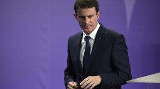 Le Premier ministre, Manuel Valls, le 2 décembre 2016 à Nancy (Lorraine). (JEAN-CHRISTOPHE VERHAEGEN / AFP)