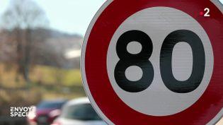 Envoyé spécial.80 km/h, la sortie de route ? (ENVOYE SPECIAL / FRANCE 2)