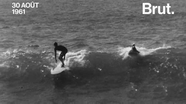 En 1961, la télévision française découvrait le surfing. Mais comment ce sport pouvait-il bien être perçu à l'époque ?