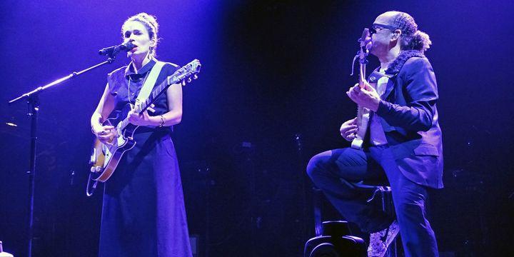 Yael Naim et David Donatien à la guitare  (Anne Philibert)