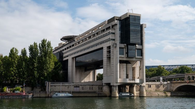 Le ministère de l'Economie et des Finances, à Paris, le 10 septembre 2020. (RICCARDO MILANI / HANS LUCAS / AFP)