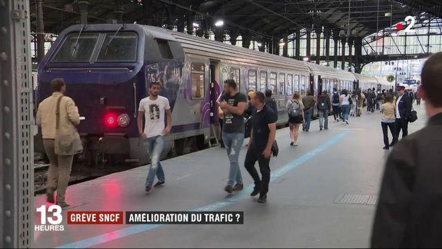 Grève SNCF : va-t-on vers une amélioration du trafic ?