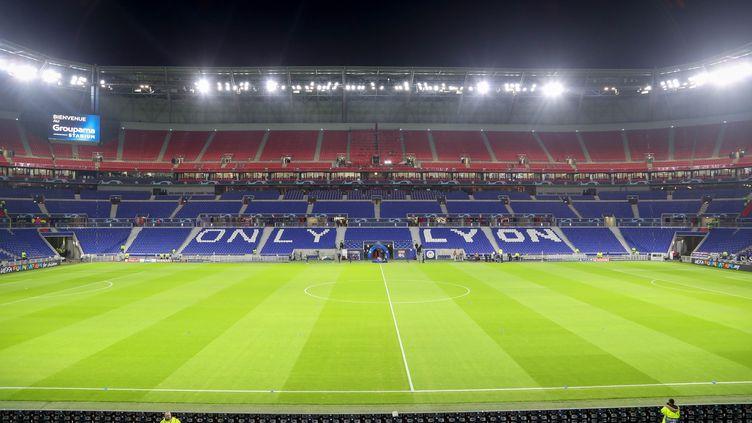 Le Groupama stadium de Décines (Rhône), le 27 novembre 2018. (AHMAD MORRA / PRO SPORTS IMAGES LTD / AFP)